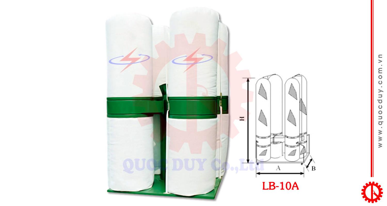 Máy hút bụi túi vải 10HP | Quốc Duy