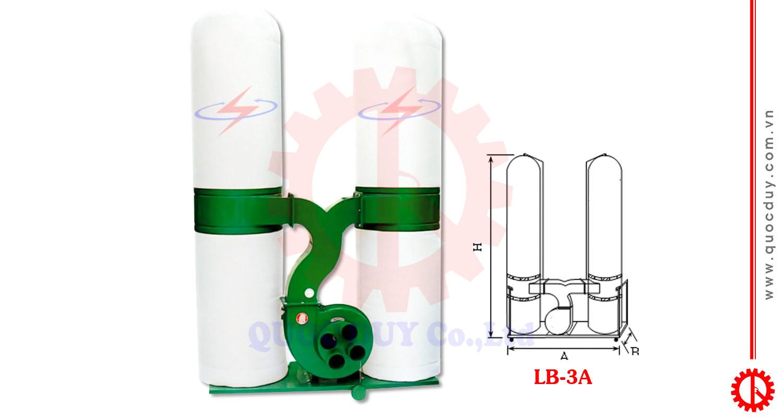 Máy hút bụi túi vải di động 3HP | Quốc Duy