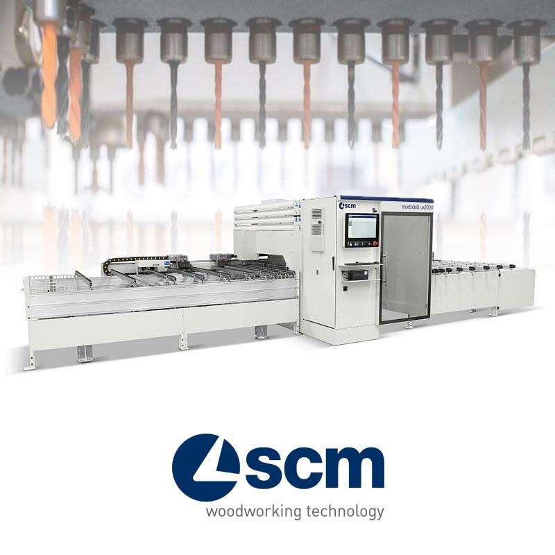 Máy khoan CNC SCM
