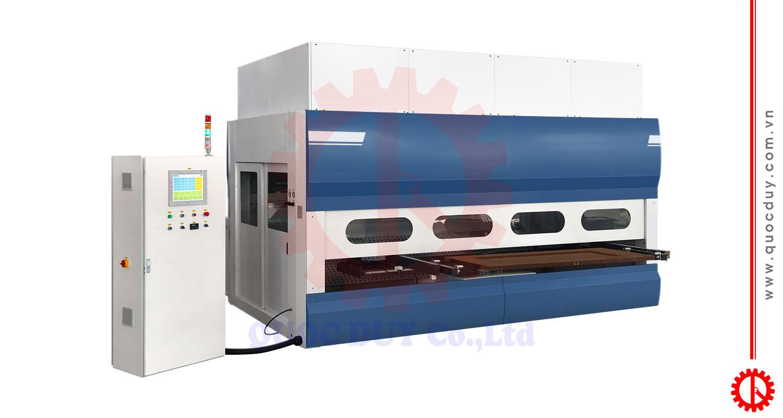 Máy sơn cửa CNC - SPD 2500D | Quốc Duy