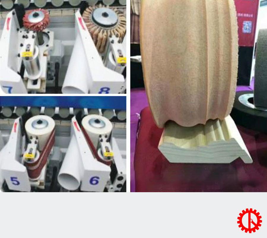 Bộ phận chà nhám máy chà nhám - sơn cạnh UV - MMP W4C2-T2G4   Quốc Duy