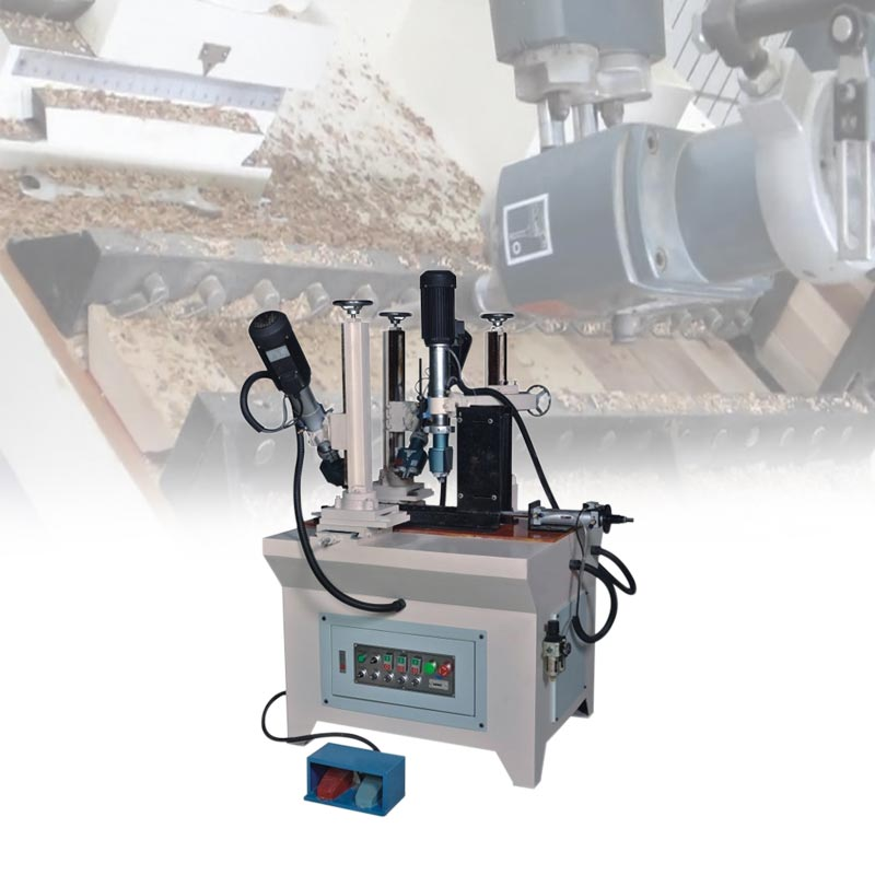 Wood chair drilling machine