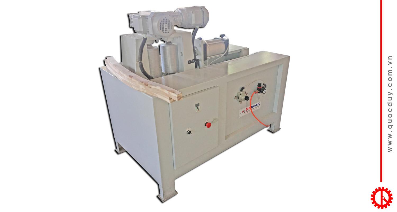 GRAIN WOOD PROFILE EMBOSSING MACHINE - SMTL 200DGP