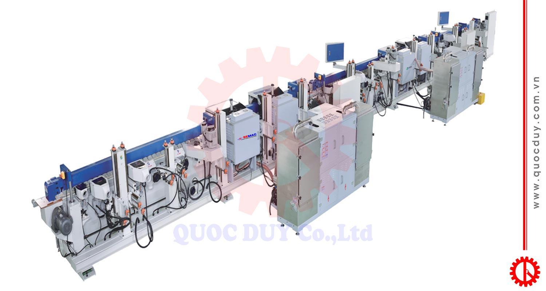 Máy chà nhám - sơn cạnh UV - MMP W4C2-T2G4 | Quốc Duy