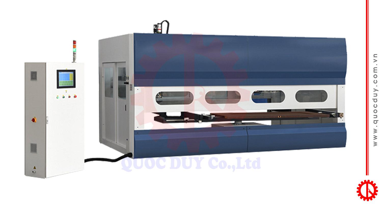 Máy phun sơn gỗ tự động SPD-2500C | Quốc Duy