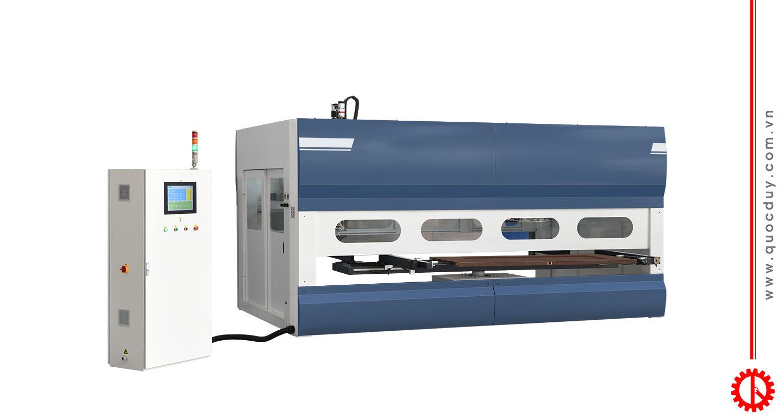 Máy phun sơn gỗ tự động SPD-250C | Quốc Duy