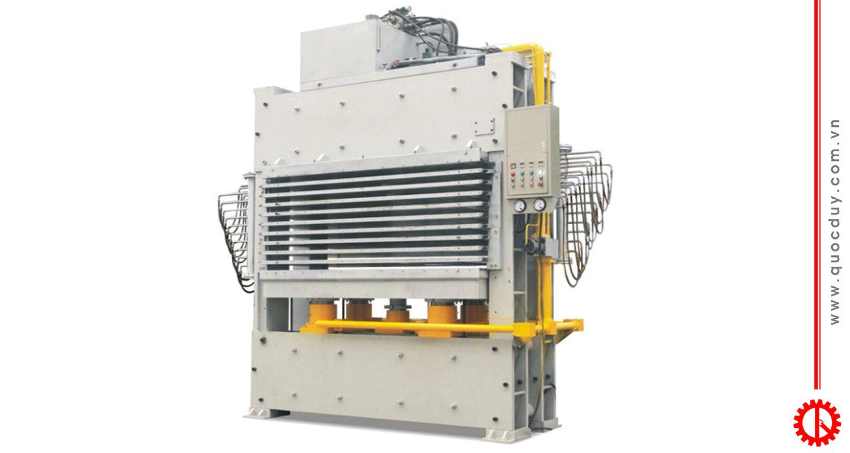 máy ép nóng 10 tầng 600 tấn - BY214X8/80(15)Z3C | Quốc Duy