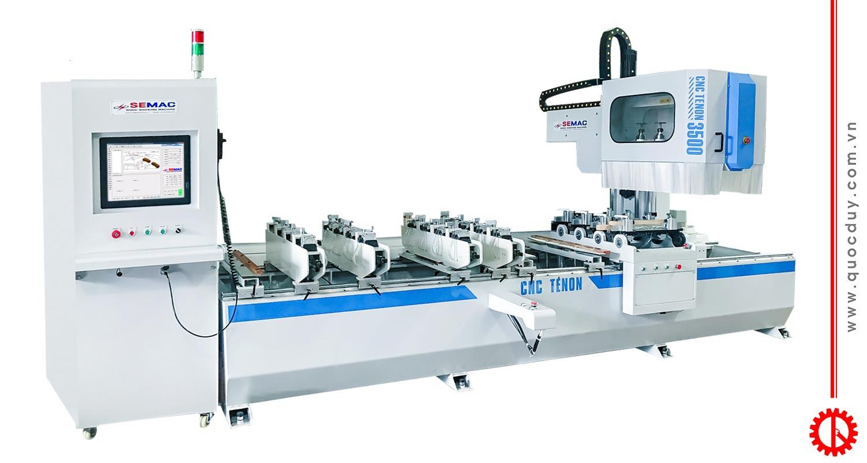 máy làm mộng âm dương cnc SMT4X4-3500 | Quốc Duy
