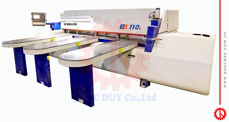 Máy cưa panel vi tính EB-110LSC | Quốc Duy