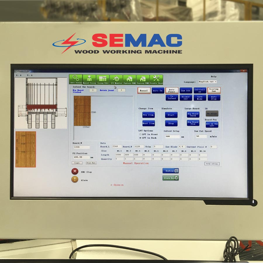 màn hình điều khiển thiết lập kích thước   Quốc Duy