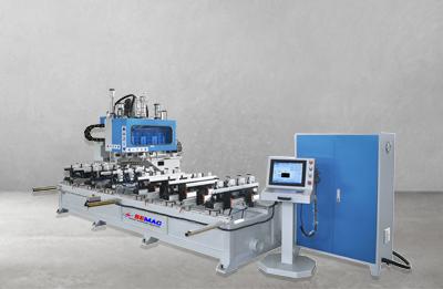 Máy làm mộng âm CNC 10 đầu 2400mm