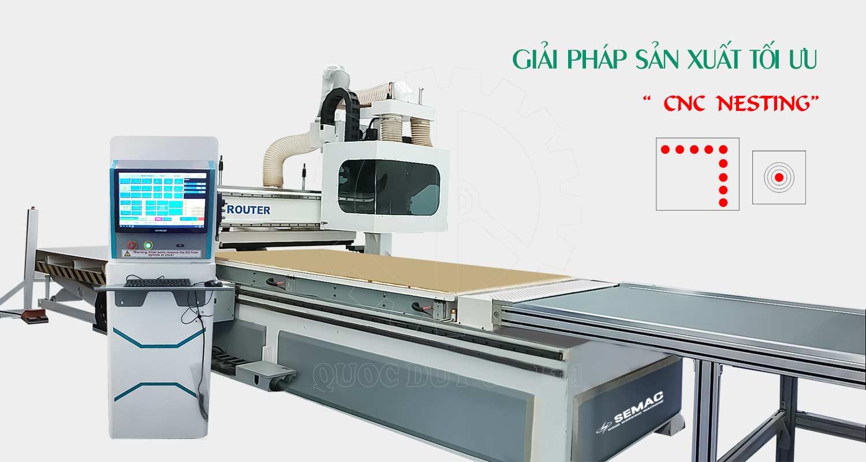 công dụng máy cnc cắt gỗ công nghiệp | Quốc Duy