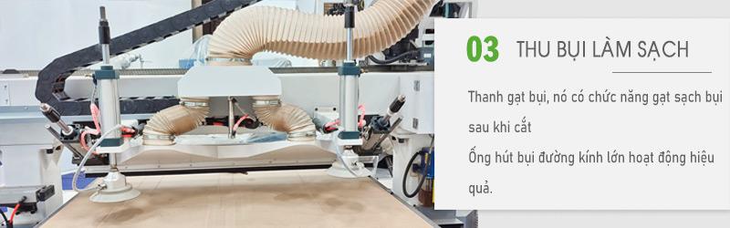 ống hút bụi thanh gạt bụi làm sạch bề mặt | QUỐC DUY